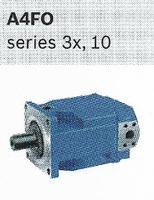 Hydraulic Supplier in Scotland, open circuit axial piston fixed pump A4F0 Series 3x,10