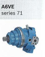 Hydraulic Supplier in Scotland, axial piston motors variable A6VE Series 71