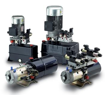 Hydraulic Supplier in Scotland, mini and micro power packs with Dana Brevini