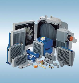 Hydraulic Supplier in Scotland, oil coolers and heat exchange